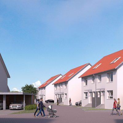 Neue DHH in Reilingen